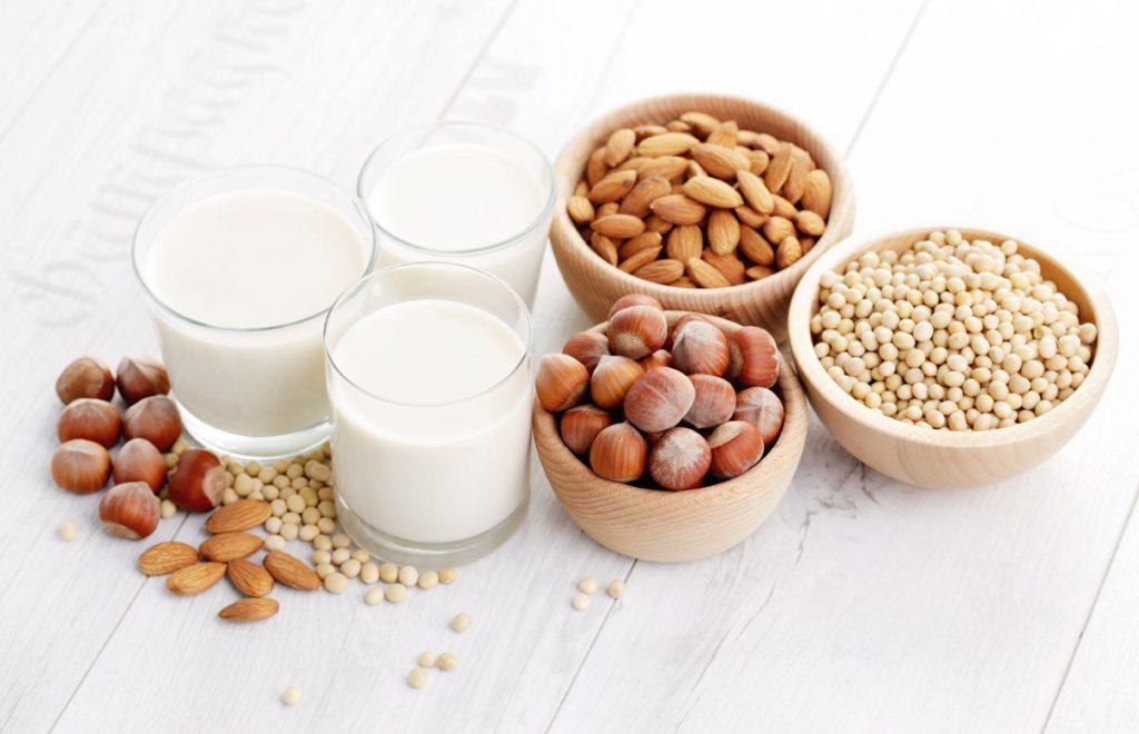 Las leches vegetales sin bebidas de fino sabor, contenido nutricional y propiedades curativas