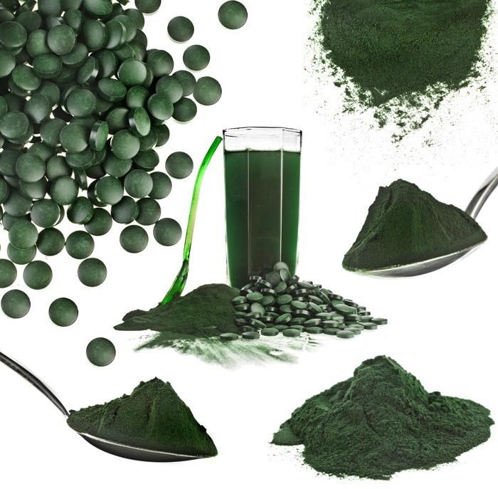 El Alga Spirulina es muy nutritivo con un excelente aporte nutrimental para el tratamiento de problemas gastrointestinales.