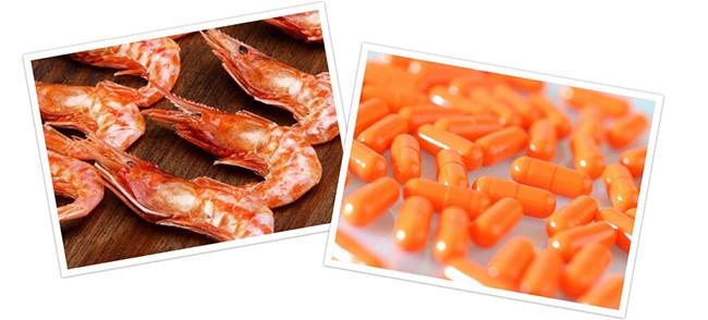 Chitosan: Es una fibra que se extrae del esqueleto de los crustáceos y tiene la capacidad de atrapar la grasa en el interior del tubo digestivo.