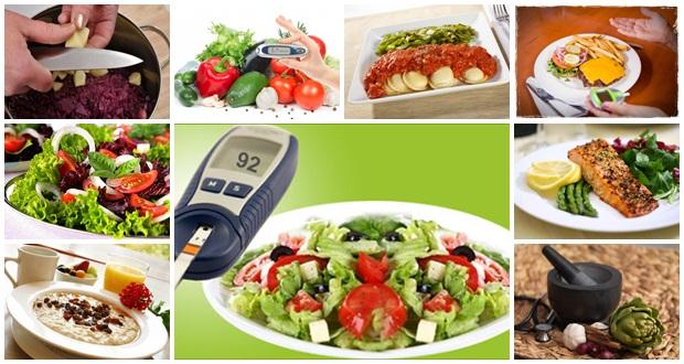 La fibra presente sobre todo en frutas, verduras y legumbres. Reduce los niveles de glucosa en las personas con diabetes saludablemente.