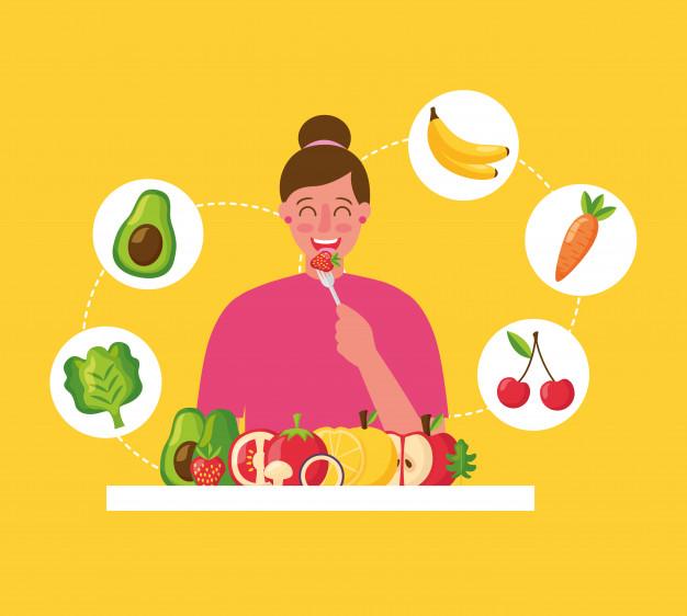 la alimentación saludable es parte del tratamiento contra la obesidad día mundial contra la obesidad.