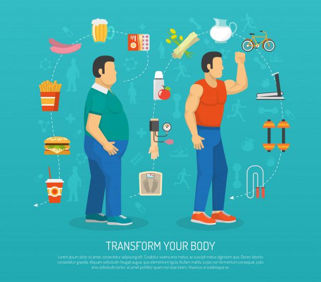 prevención de la obesidad en el día mundial contra la obesidad.