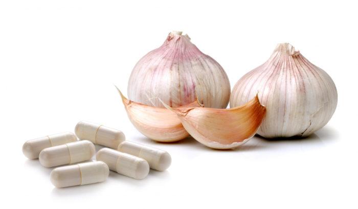 Antioxidantes que contiene el ajo